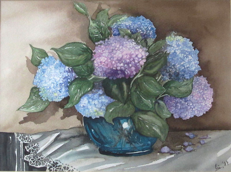 Aquarell, 36 x47, 1994