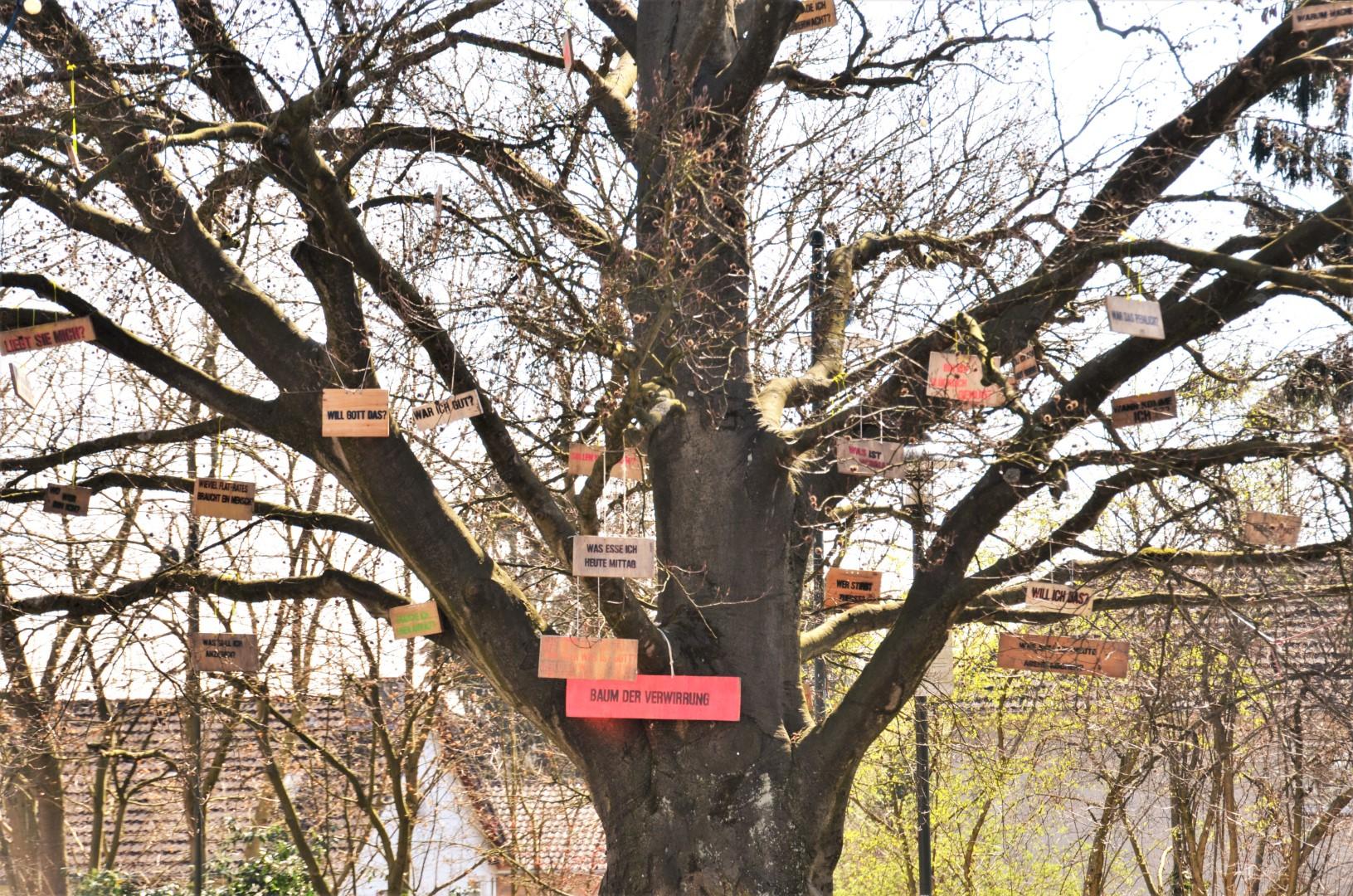 Ein Baum HГјgel aus dem echten Leben